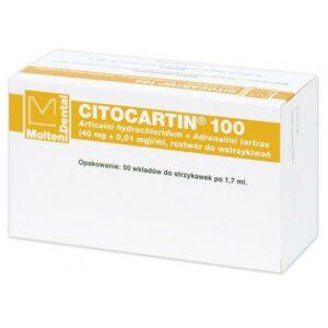Citocartin 100 iniekcje 17 ml, 50 wkładów, Molteni