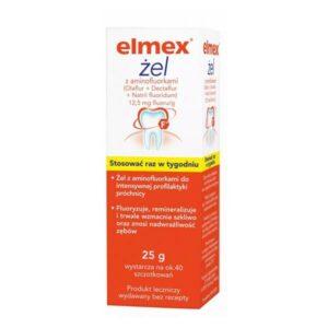 Elmex żel przeciw prochnicy 25 g